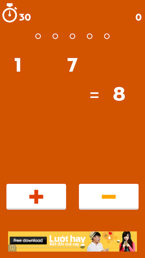 Cheer Math Game - screenshot
