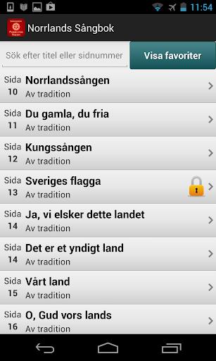 Norrlands Nations Sångbok