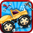 Monster Truck Wash- Messy Tire icon