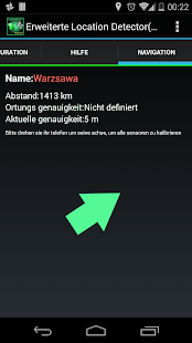 AdvancedLocationDetector(GPS) Screenshot