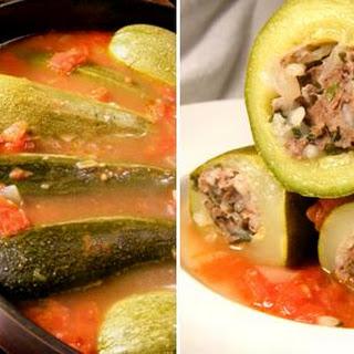 Lebanese Stuffed Zucchini – Kousa Mahshi