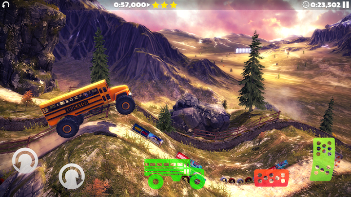 Offroad Legends 2 - Hill Climb Android App Screenshot