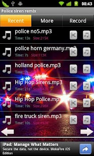 Police siren remix - screenshot thumbnail
