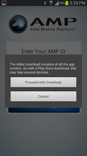 AMP App - screenshot thumbnail