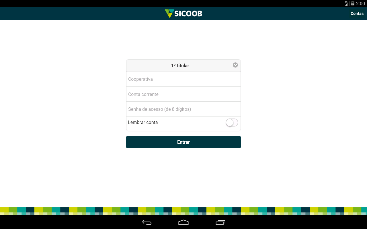 Sicoob - screenshot