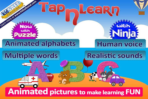 ABC for kids animated alphabet