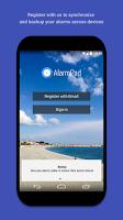Screenshot of AlarmPad - Alarm Clock Free