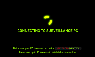 Screenshot of Home Video Surveillance