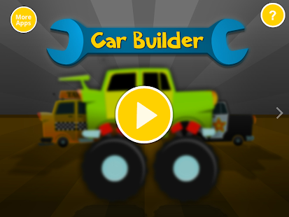 Car Builder - free kids game