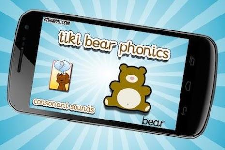 Tiki Bear Phonics Consonants