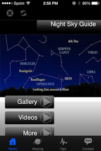 Sky Viewing Guide