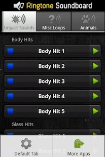 Ringtones Sound Effects - screenshot thumbnail