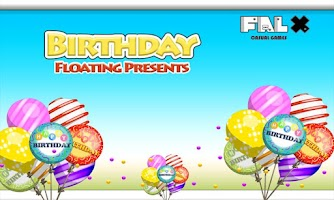 Screenshot of Birthday Floating Presents