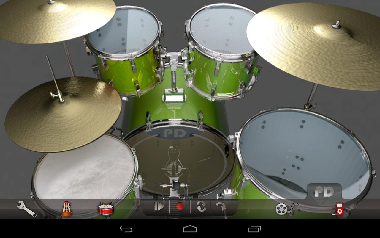 Pocket Drums Pro- screenshot
