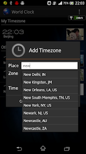 World Clock- screenshot thumbnail