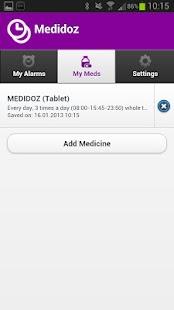 Medidoz Pill Reminder - screenshot thumbnail