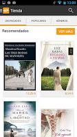 Screenshot of Fnac ebooks