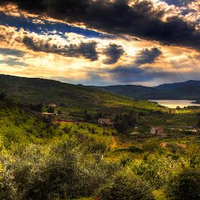 Vista sulla Diga by Andrea Viola - Landscapes Mountains & Hills ( vista sulla diga )