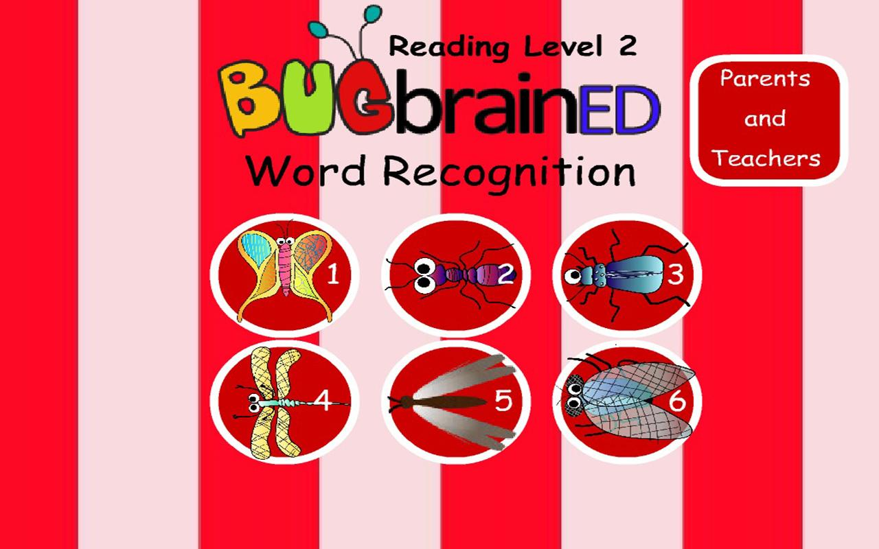 Word Recognition Level 2- screenshot
