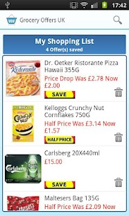 Grocery Offers UK - screenshot thumbnail