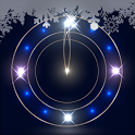 Snowy Night Clock LWP Trial icon