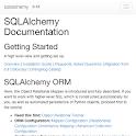 python sqlalchemy doc icon