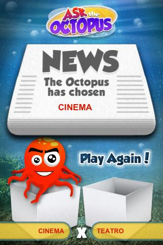Ask the Octopus - screenshot