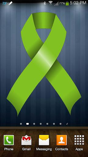 Lime Green Ribbon doo-dad