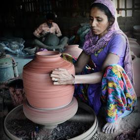 by Himanshu Maya - People Portraits of Women