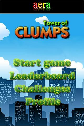 Tower of clumps - screenshot