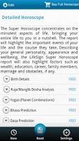 Screenshot of Horoscope & Predictions
