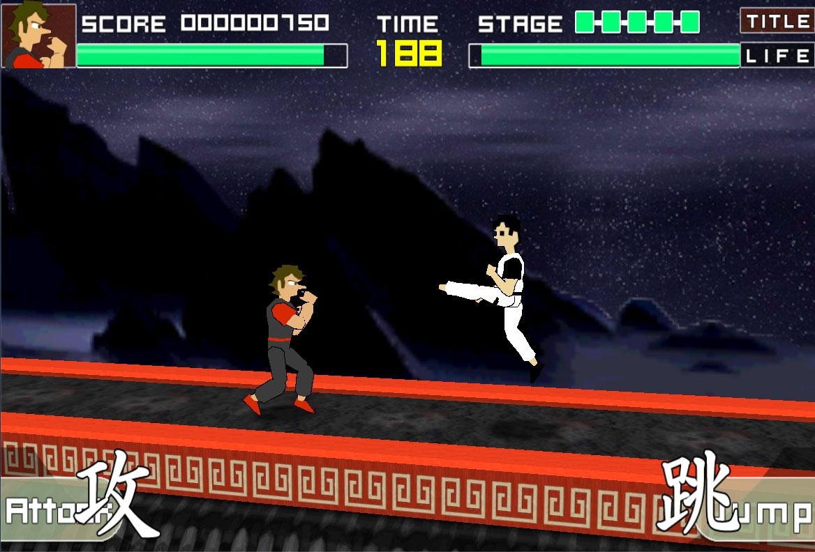 Kung Fu Master (unofficial)- screenshot