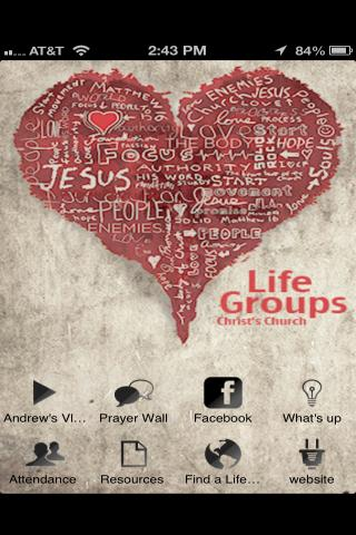 Christ's Church Life Groups