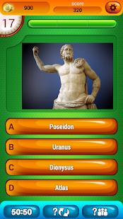 Řecké Mytologie Kvíz Hra - náhled