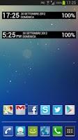 Screenshot of Jelly Bean Clock Widget UCCW
