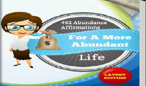 492 Abundance Affirmations