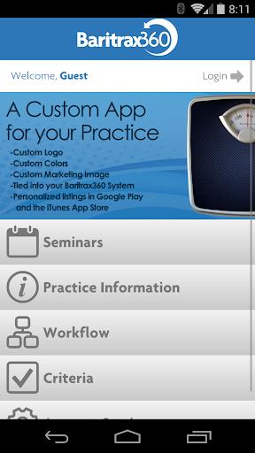 Baritrax360 Demo Application