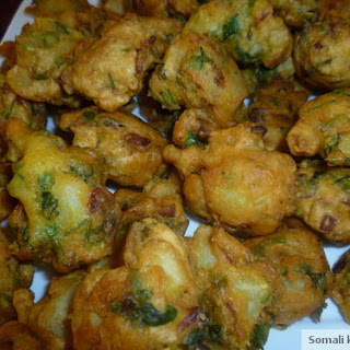 Chickpea and Potato Bhajia