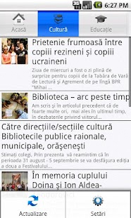 Rezina News- screenshot thumbnail
