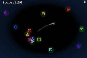 Screenshot of Polygon Storm