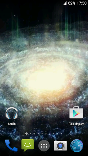 Galaxy. Video Wallpaper