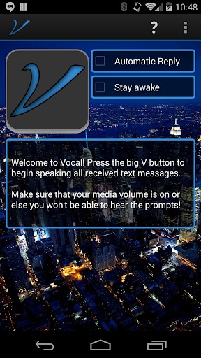 Hands Free Texting - Vocal