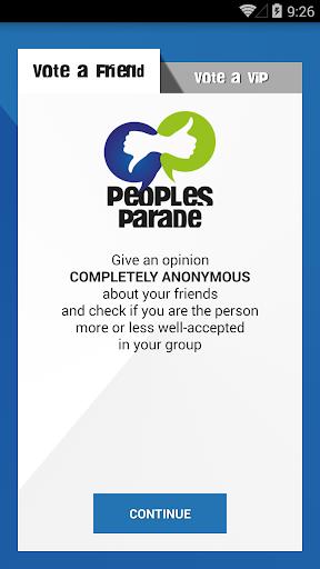 【免費社交App】Peoples Parade-APP點子