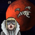Mars Defender space adventure icon