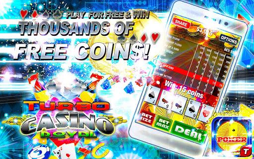 Poker Gems Casino Cards Gold