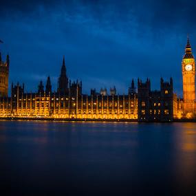 Big Ben by Steve Trigger - Buildings & Architecture Public & Historical