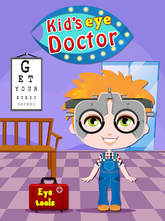 Eye Doctor - Kids games