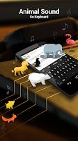 Screenshot of GO Keyboard Animal Sounds Pack