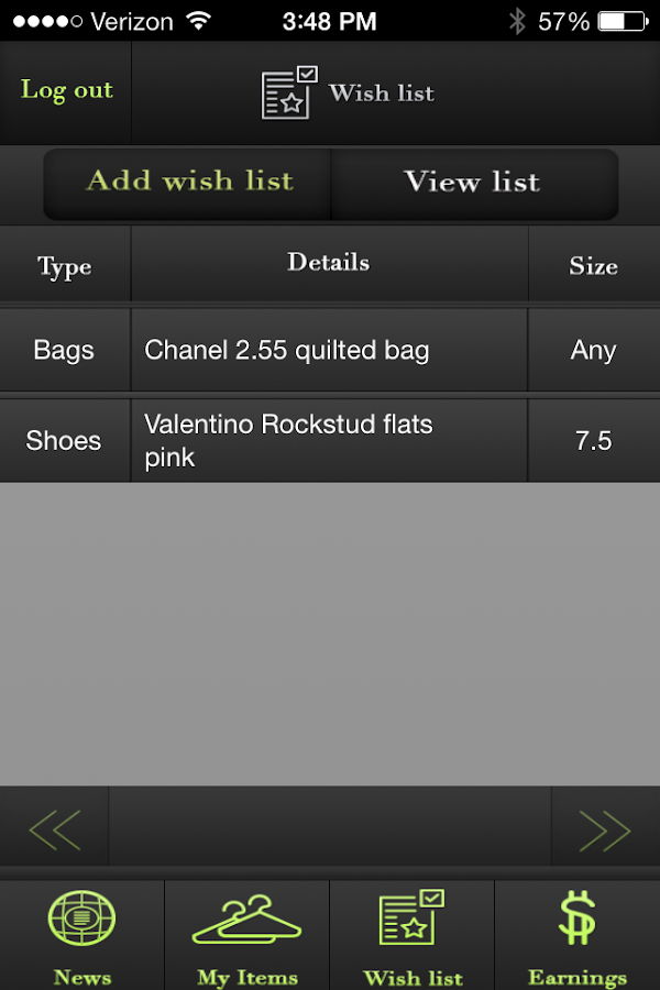 Sell Your Sole Consignment - screenshot