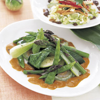 Sauteed Vegetables with Chile-Tamarind Sauce